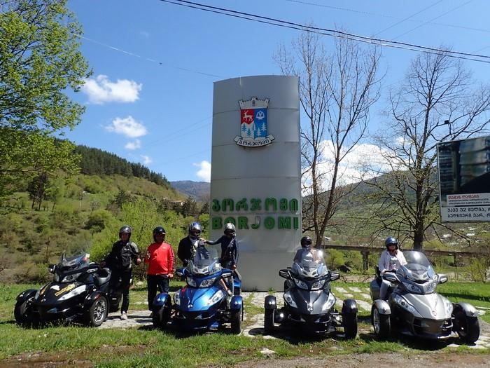 Путешествие на родстерах BRP Spyder в Грузию!