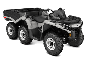 Can-Am Outlander 6x6 650 DPS With Flat Bed kit (2017 м.г.)