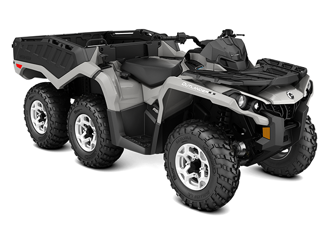 BRP Can-Am Outlander 6x6 650 DPS With Flat Bed kit (2017 м.г.)
