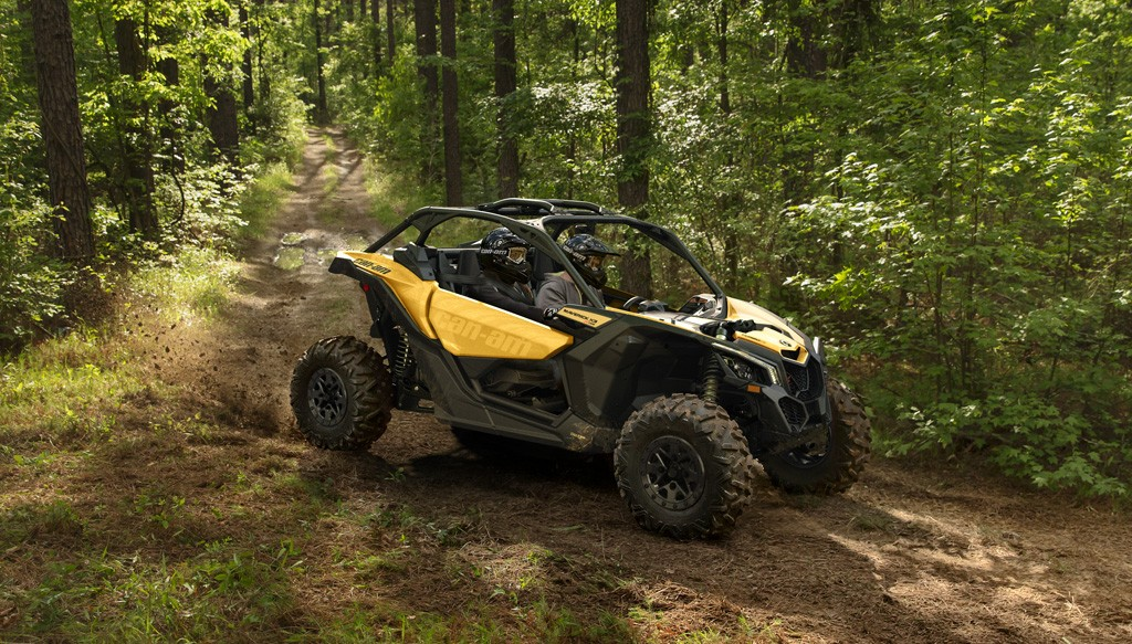 Тест драйв CAN-AM Maverick X3