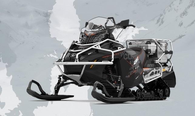 Снегоход Lynx Commander Touratech 800R E-TEC