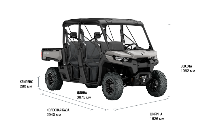 Can-Am Traxter MAX XT HD10 (2018 м.г.)