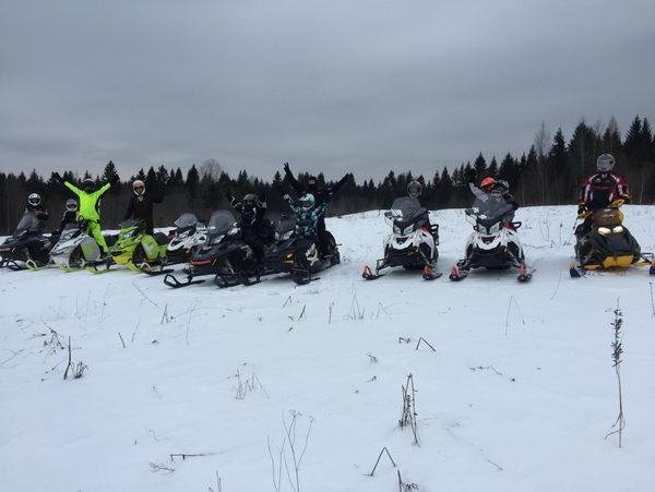 Как мы провели праздники 20-23 февраля в сказочном месте на снегоходах!