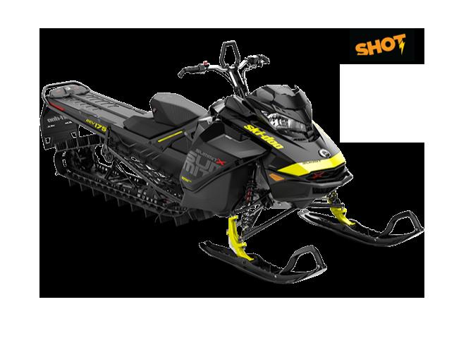 "Ski-Doo Summit X 850 175"" SHOT 2018"