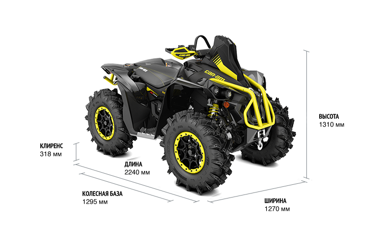 Can-Am Renegade 1000R X MR (2018 м.г.)