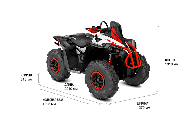 Can-Am Renegade 570 X MR (2017 м.г.)