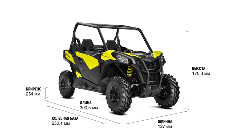 Can-Am Maverick Trail 1000 DPS (2018 м.г.)