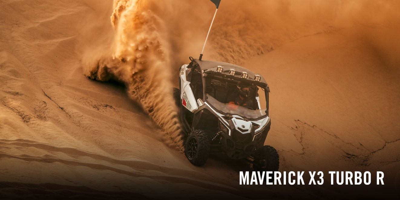 Can-Am MAVERICK MAX XRS TURBO RR (SMART-SHOX) 2021
