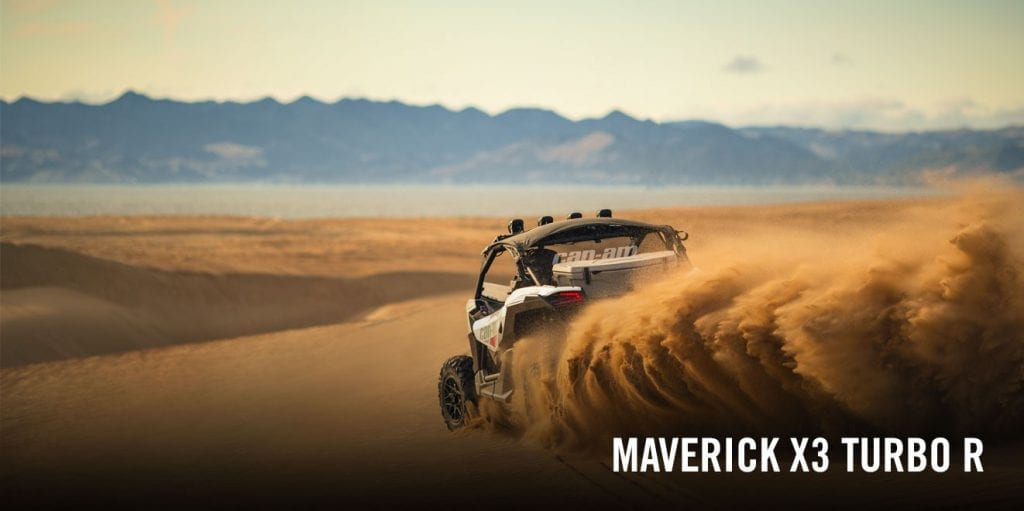 BRP Can-Am Maverick X3 (2017 м.г.)