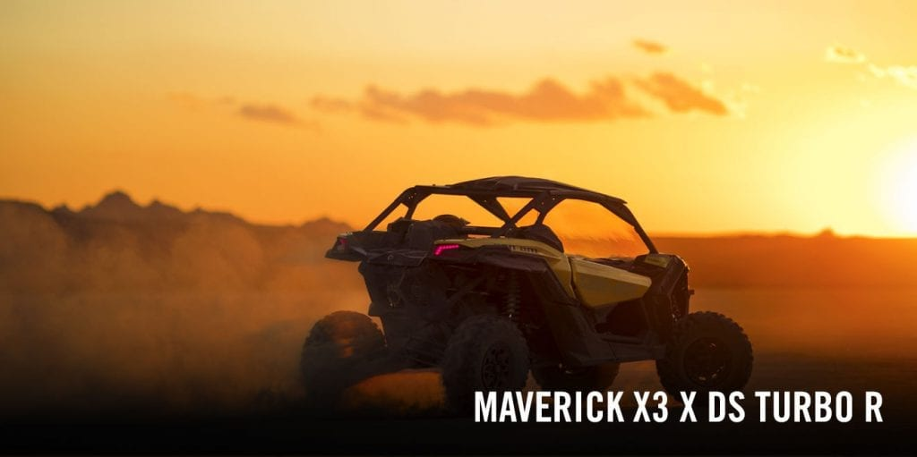 Can-Am Maverick X3 X DS (2017 м.г.)