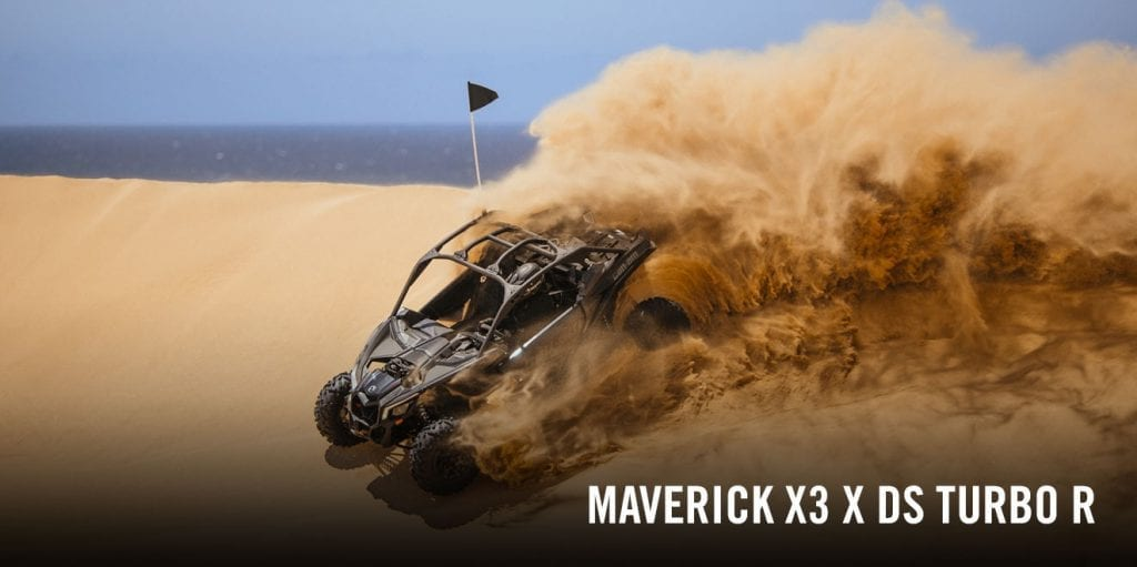 BRP Can-Am Maverick X3 X DS (2017 м.г.)