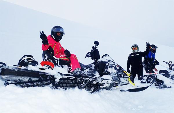 Видео отчет поездки Bombardier club в Риддер, снегоходы