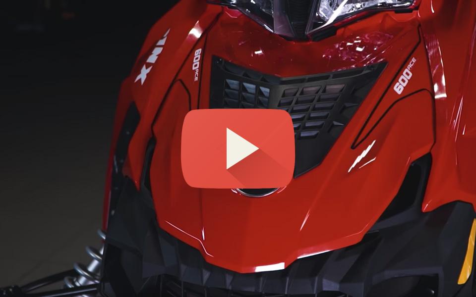 Видео обзор снегохода Lynx Adventure LX 600