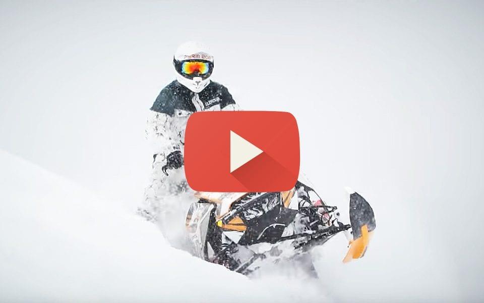 Тест-драйв снегохода BRP Lynx Boondocker 2018