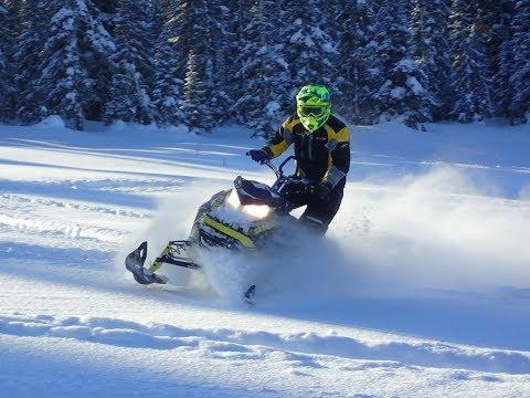 Отчет о поездке в Хибины на снегоходах в феврале 2018