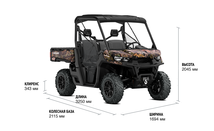 BRP Can-Am Traxter HD10 X MR (2018 м.г.)