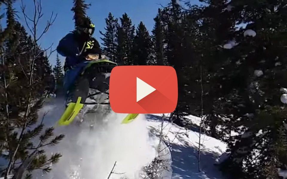 Видео отчет о закрытии снегоходного сезона Bombardier Club Москва