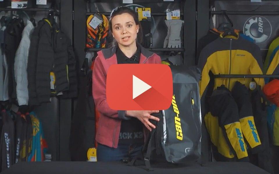 Обзор водонепроницаемого рюкзака Can-Am Carrier Dry