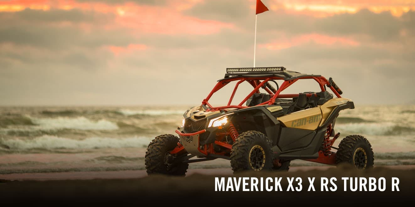 Can-Am Maverick X3 X RC TURBO RR (2020 м.г.)