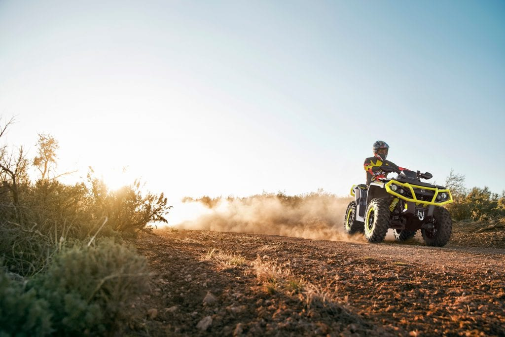 Квадроциклы Can-Am BRP 2019 года. Новинки.