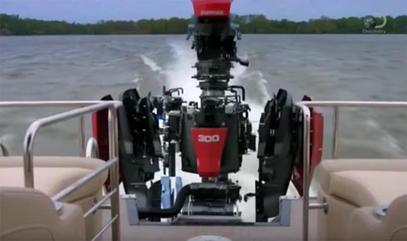 Фильм о лодочных моторах Evinrude от канала Discovery