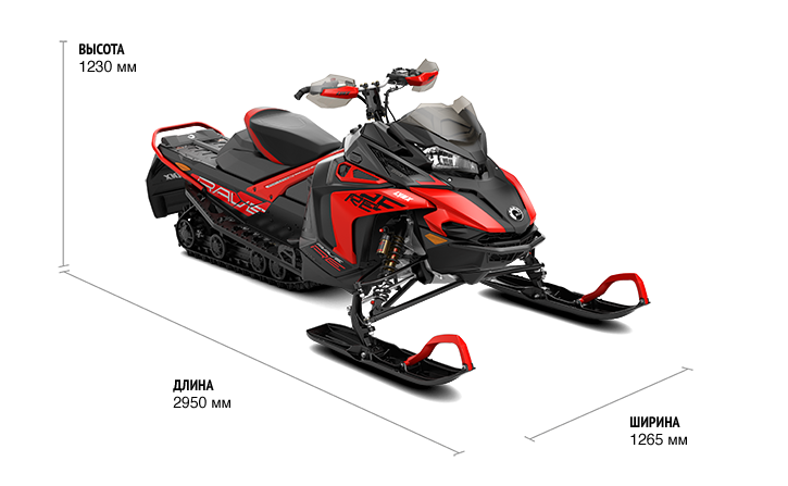 Lynx Rave RE 3300 850 E-TEC (2019)