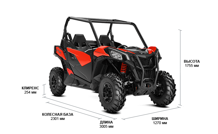 Can-Am Maverick Trail 1000 DPS (2019 м.г.)