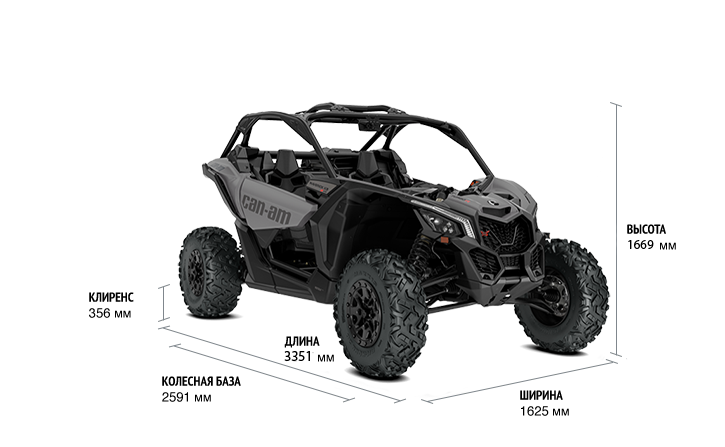 Can-Am Maverick X3 X DS Turbo R (2019 м.г.)