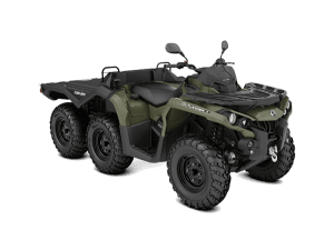 BRP Can-Am Outlander 6x6 650 DPS With Flat Bed kit (2019 м.г.)