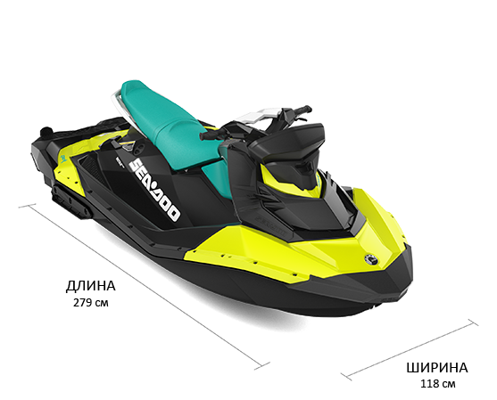 Sea-Doo SPARK iBR 900 HO ACE (2019)