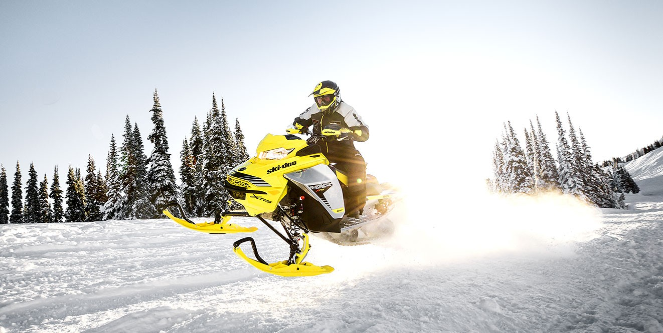 Обзор гоночного снегохода Ski-Doo MXZ 600 RS E-TEC 2019