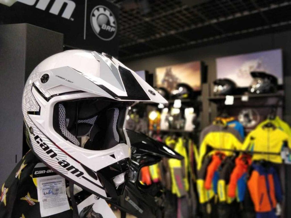 Экипировка и шлем BRP в Москве