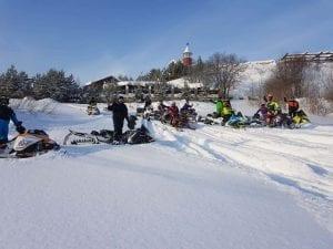 Отчет со снегоходного сафари в Кировской области