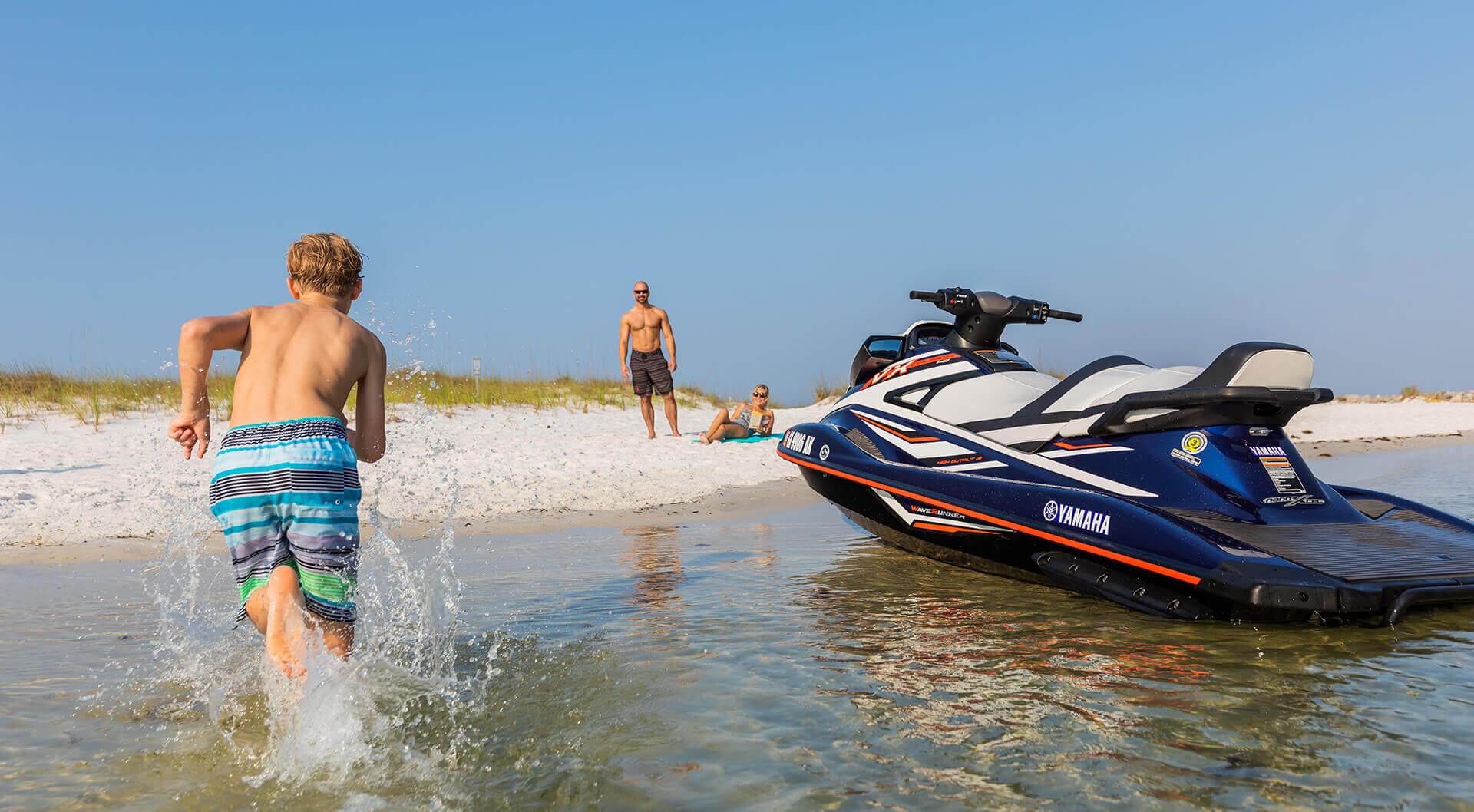 Yamaha VX Cruiser HO – мощный и надёжный туристический гидроцикл