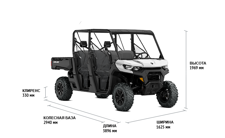 BRP Can-Am Traxter MAX HD10 DPS (2020 м.г.)