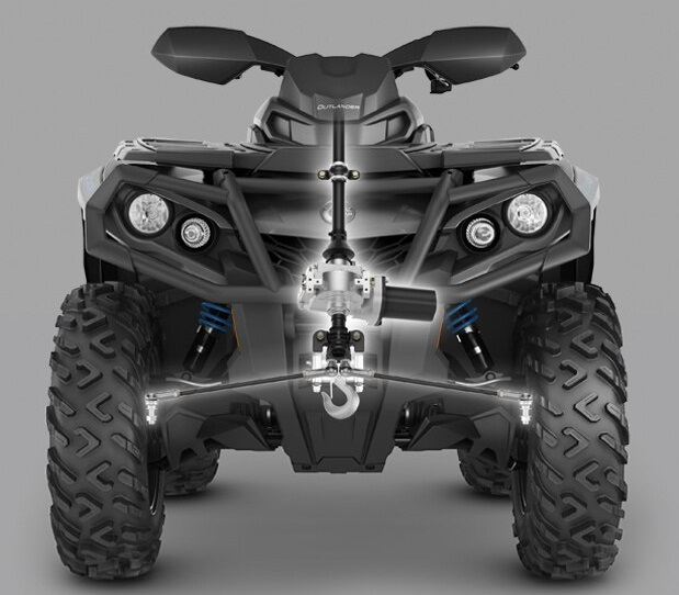Can-Am Outlander MAX 650 XT-P (2020 м.г.)