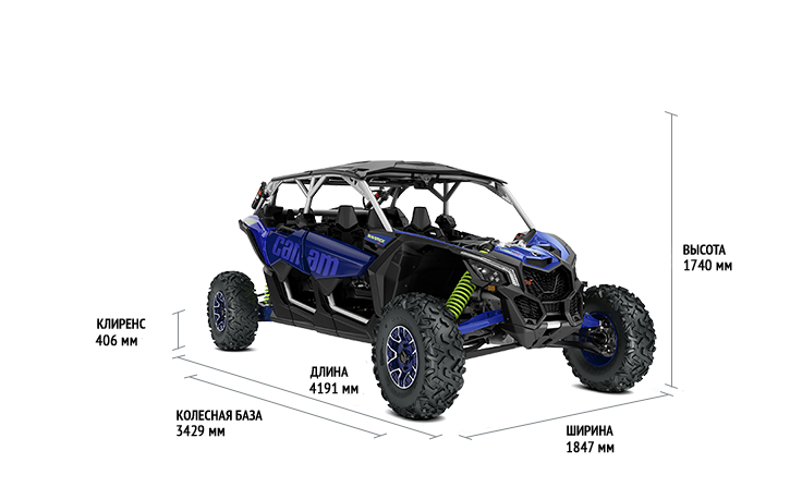 BRP Can-Am Maverick X3 MAX X RS TURBO RR (2020 м.г.)