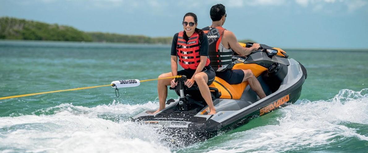 Удовольствие, маневренность, устойчивость: новый Sea-Doo GTI SE 170 2020 модельного года