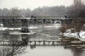 14 декабря 2019. Квадропробег по берегам Киржача