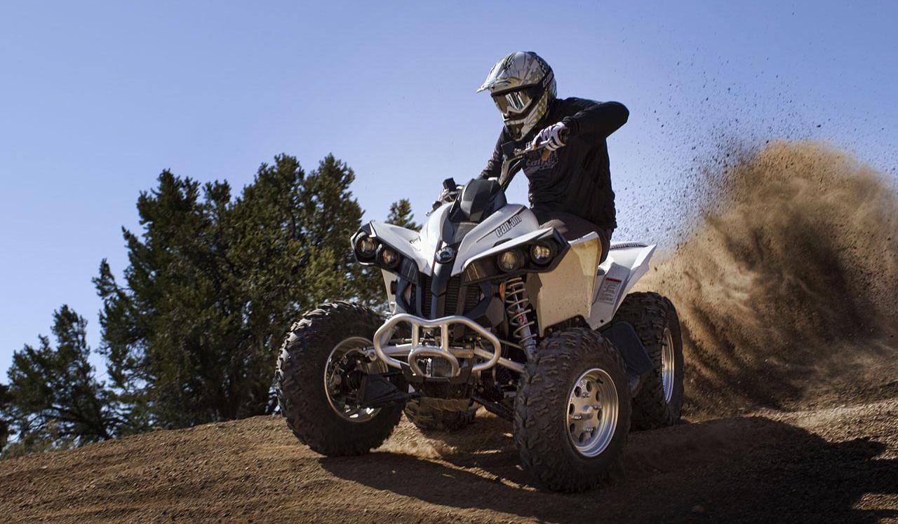 Yamaha Raptor: покоритель пустынь