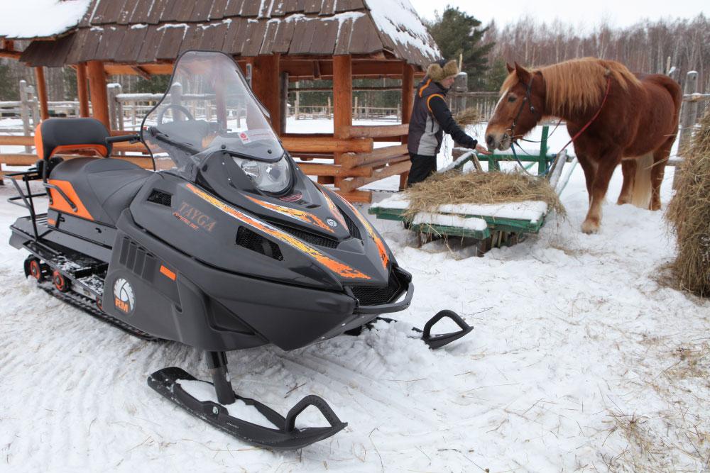 Снегоход Русская Механика Тайга: уверенный покоритель севера