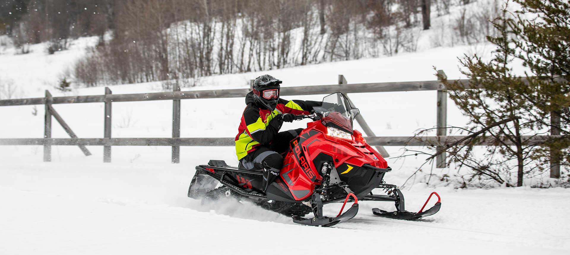 Обзор снегохода-кроссовера Polaris Indy