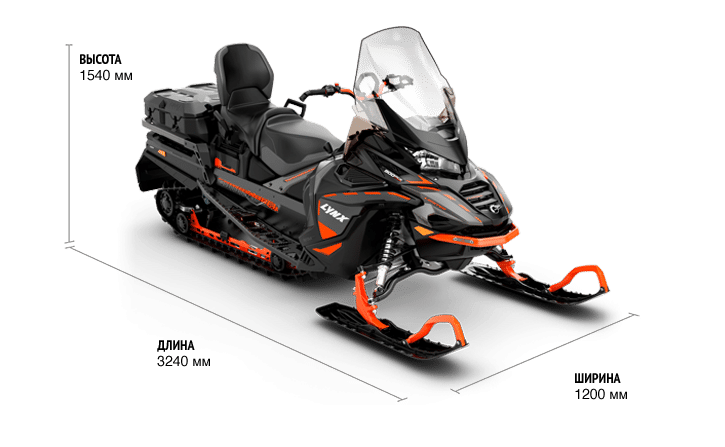 Commander LTD 900 ACE Turbo (650W) ES 2021