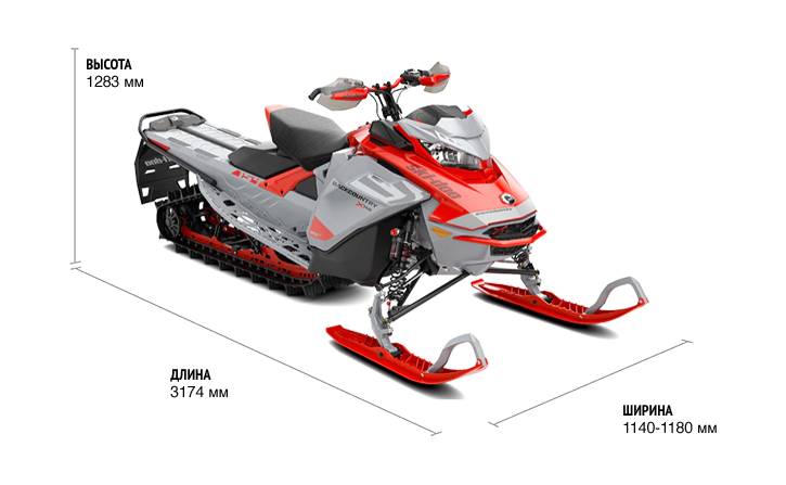 Ski-Doo BACKCOUNTRY XRS 146 850 E-TEC ES 2021
