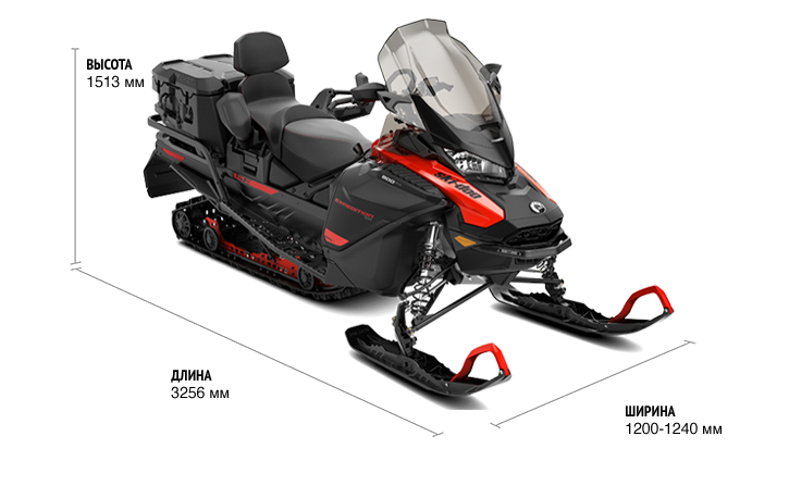 Ski-Doo EXPEDITION SE 900 ACE Turbo (650W) ES 2021