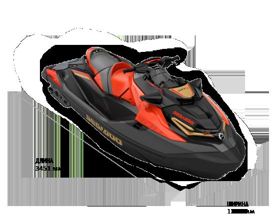 Sea-Doo RXT-X 300 (2020) с акустикой