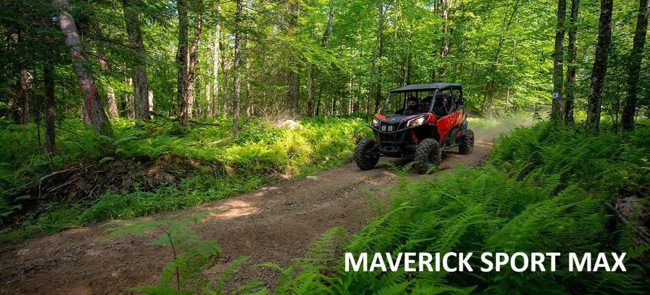 BRP Can-Am Maverick Sport MAX 1000 DPS (2020 м.г.)