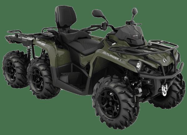 Can-Am OUTLANDER MAX 6×6 XU+ 450 2021