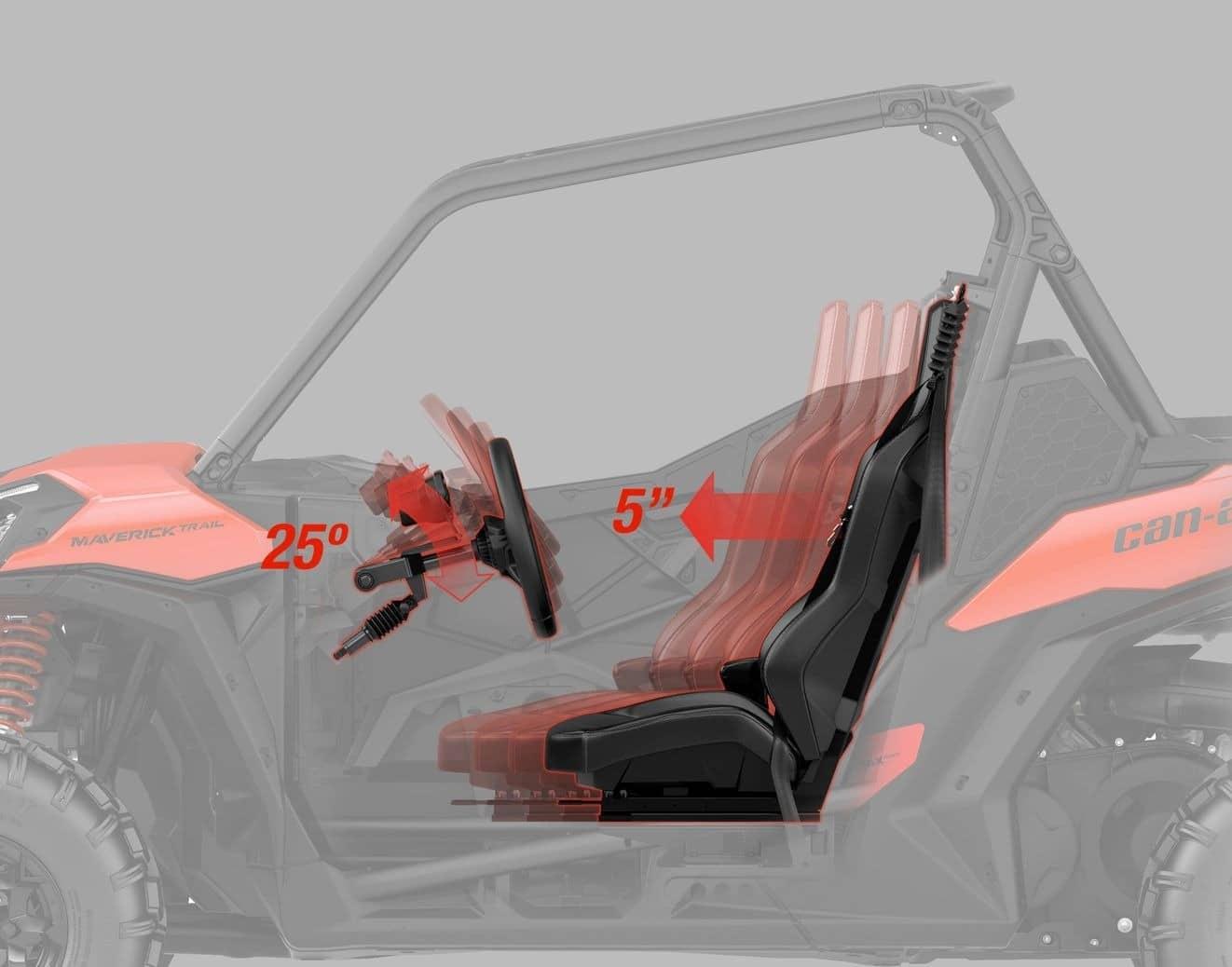 Can-Am MAVERICK TRAIL DPS 1000 ABS 2021