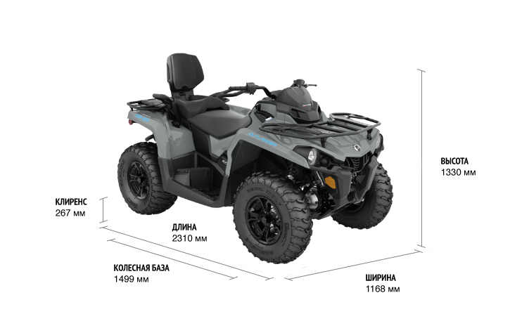 Can-Am OUTLANDER MAX DPS 570 ABS 2021